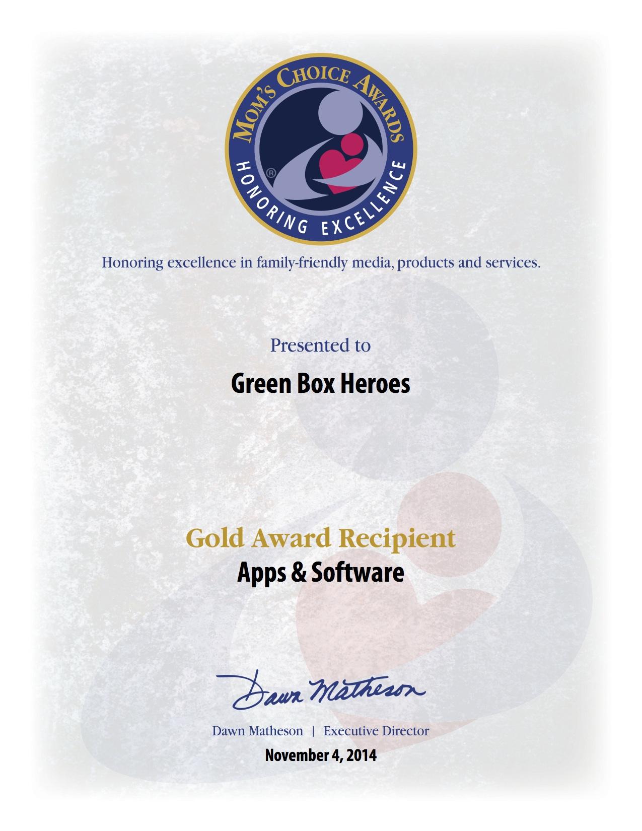 Green Box Heroes