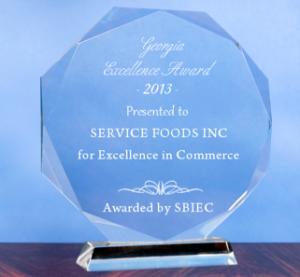 Service Foods Award